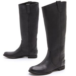 Madewell Archive Black Leather Boot 6.5 EUC
